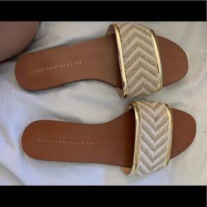 Zara sandals (NEW)